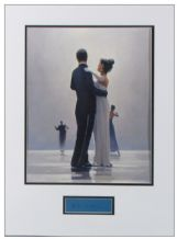 Jack Vettriano Autograph Signed Display
